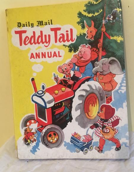 1958 daily mail teddy tail annual