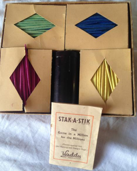 1930s waddy stak a stik game, complete