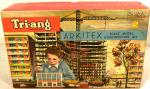 1960's triang spot-on arkitex construction set no. b ( boxed)