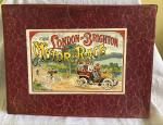 very rare c1910 Edwardian London to Brighton motor race game complete.