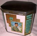 1969 prince charles investiture tea caddy tin