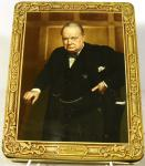 1941 -1956 huntley and palmer winston churchill biscuit tin