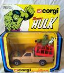 1979 corgi incredible hulk  pick up truck complete & boxed