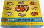 1960's corgi constructor set gs/24 (complete and boxed)