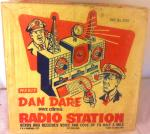 original 1950's dan dare radio station boxed and complete