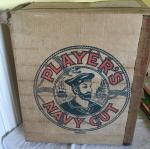 1957 John player cigarettes large trade box