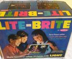 original 1960s unused palitoy lite brite picture maker