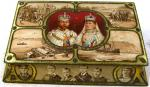 1910 rowntree King George V commemorative coronation confectionary tin