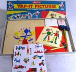 1960's Merit Tap - it Pictures set with hammer & nails