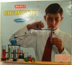 1962 merit chemistry set v. near complete
