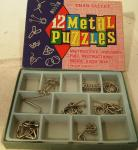 1970's chad valley metal puzzle set ( complete)