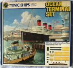 vintage triang minic waterline ocean terminal boxed set