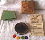 WWII boxed bakelite monti 3 games in one set