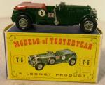 1960's lesney models of yesteryear 1929 blower bentley ( boxed)