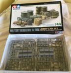 modern tamiya jerry can set 1:48 , boxed and complete
