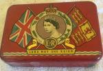 1953 coronation oxo tin.