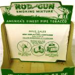 1950's rod and gun smoking mixture shop display dummy box