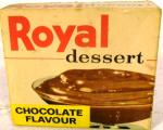 1960's royal desert ( chocolate ) packet unopened