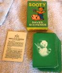 1960s sooty saves a sixpence card game complete