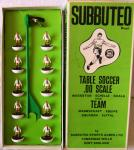 1970's subbuteo h/w crystal palace team number 102 ( boxed)