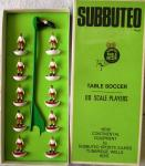 1970s subbuteo airdrie  football team no 39 , boxed