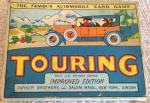 1933 parker  touring car card game complete