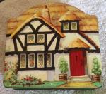 1960s tuckers totnes cottage toffee tin.