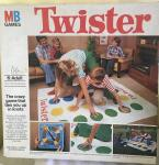 original 1970s mb games twister game boxed